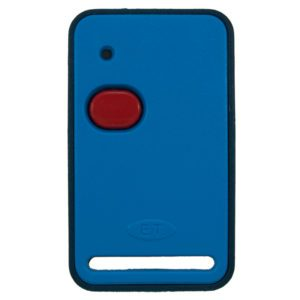 ET Blue 1 button dual code remote transmitter