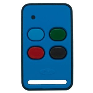 ET Blue 4 button dual code remote transmitter