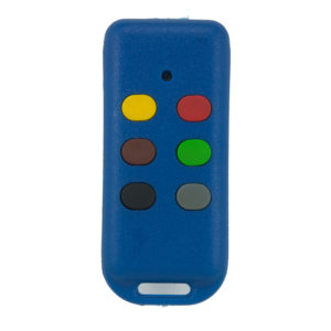 Bartronic Dyno 403 and 433mhz 6 button remote transmitter