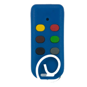 Bartronic Super Dyno 403 and 433mhz 6 button remote transmitter