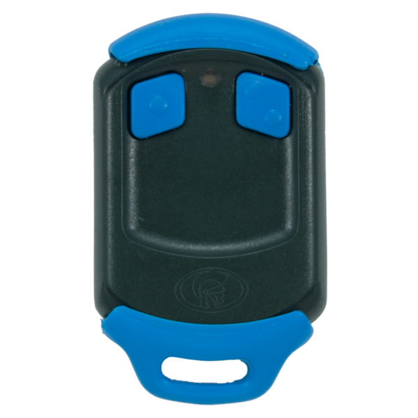 Blue Centurion Nova 2 button remote transmitter