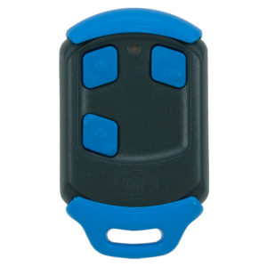 Blue Centurion Nova 3 button remote transmitter