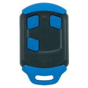 Blue Centurion Nova 3 button remote transmitter