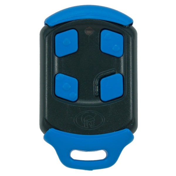 Blue Centurion Nova 4 button remote transmitter