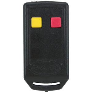Duratronic 2 button remote transmitter, front view