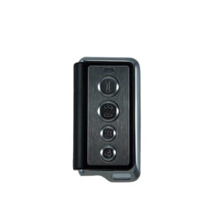 Old DorTech DorGo 4 button remote transmitter for original DorTech DorGo 800 domestic sectional garage door motor