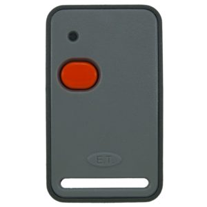 ET universal 1 button orange 433mhz remote transmitter