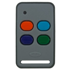 ET universal 4 button orange 433mhz remote transmitter