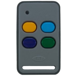 ET universal 4 button yellow 403mhz remote transmitter