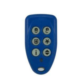 EVOII alarm 6 button remote transmitter
