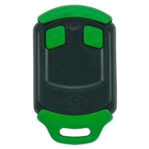Green Centurion Smart 2 button remote transmitter