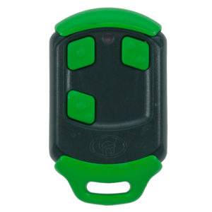Green Centurion Smart 3 button remote transmitter