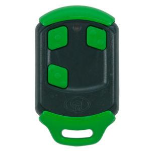 Green Centurion Smart 3 button remote transmitter