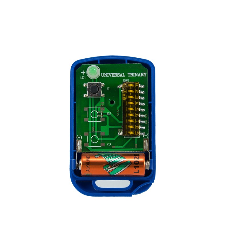 Griffon 1 button remote transmitter 9 switches trinary