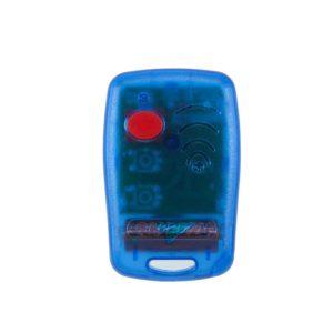 Griffon 1 button transparent blue 403mHz remote transmitter