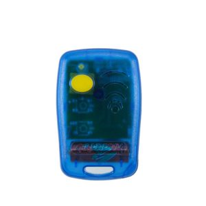 Griffon 1 button transparent blue 433mHz remote transmitter