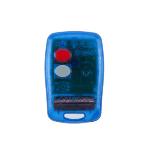 Griffon 2 button transparent blue 403mHz remote transmitter