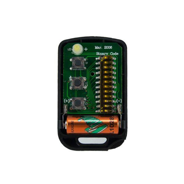 Griffon 3 button remote transmitter 12 switches binary 433