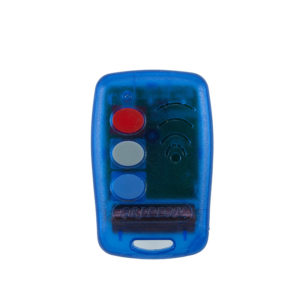 Griffon 3 button transparent blue 403mHz remote transmitter