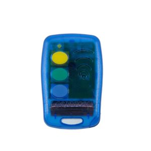 Griffon 3 button transparent blue 433mHz remote transmitter