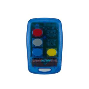 Griffon 4 button transparent blue 403mHz remote transmitter