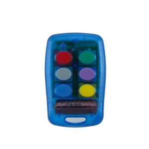 Griffon 6 button transparent blue 403mHz remote transmitter