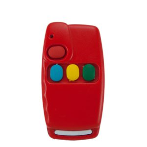 MAMI Topo red black 4 button remote transmitter