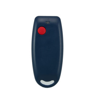 QTron 403mhz blue and grey 1 button remote transmitter