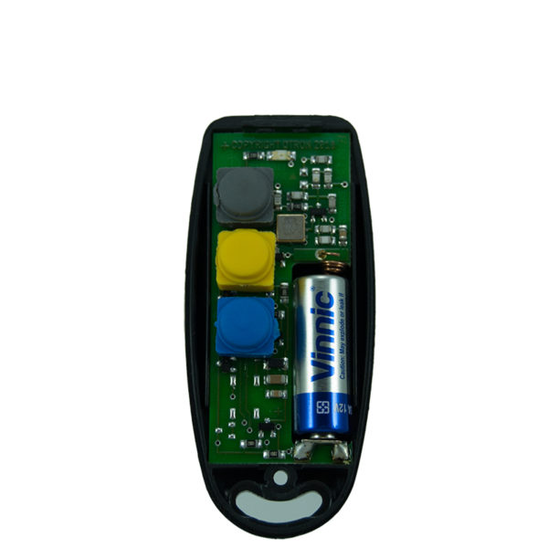 QTron 433mhz black and black 3 button remote transmitter