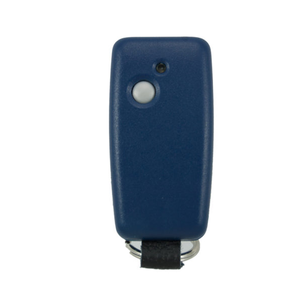 QTron 868mhz blue and blue 1 button remote transmitter