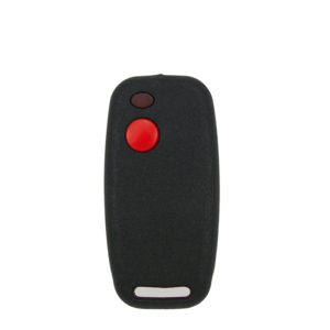 Sentry 403mhz black and red 1 button remote transmitter