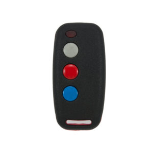 Sentry 403mhz black and red 3 button remote transmitter
