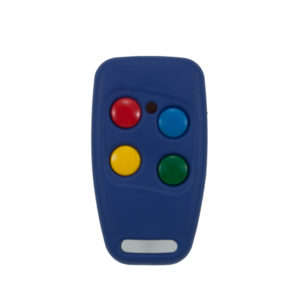 Sentry 403mhz blue and blue 4 button remote transmitter