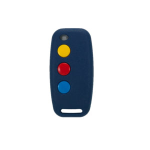 Sentry 433mhz blue 3 button remote transmitter