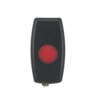 Sherlo 1 button panic black remote transmitter on chain