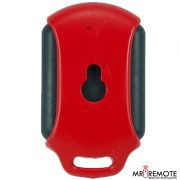 Red Centurion classic 1 button remote transmitter back