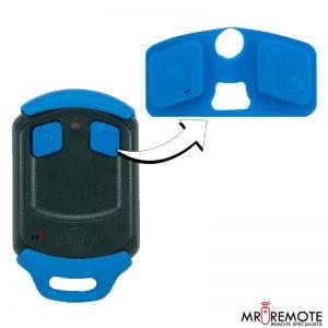 Centurion spare 2 button remote rubber blue