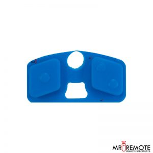Centurion blue 2 button spare rubber