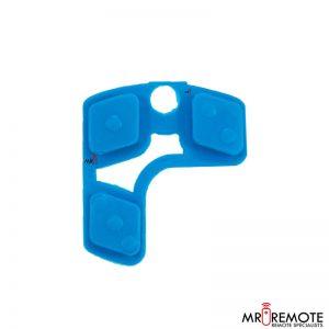 Centurion spare 3 button remote rubber blue