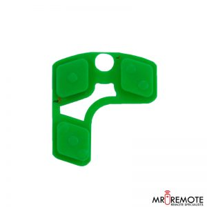 Centurion spare 3 button remote rubber green