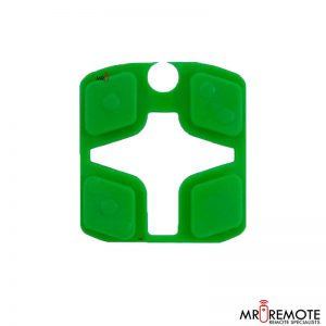 Centurion spare 4 button remote rubber green