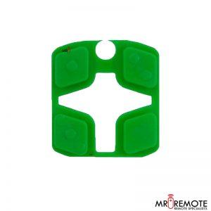 Centurion spare 4 button remote rubber green