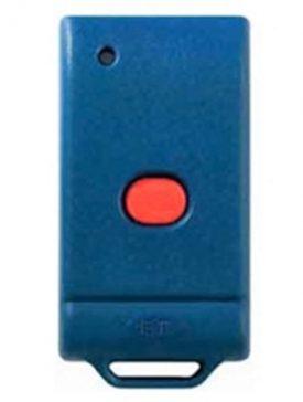 Old ET Plus DCBlue 1 button remote transmitter for garage door motors