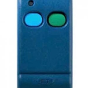 Old ET Plus DCBlue 2 button remote transmitter