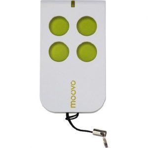 Moovo 4 button remote green and white