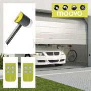 Moovo 4 button remote for garage door
